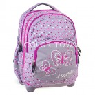 Rucsac PULSE 2 in 1 Kids Gray Butterfly