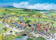 Puzzle The cycle race 40 piese