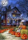Puzzle Spooky House 140 piese