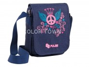 Geanta de umar PULSE Teens Pink Peace