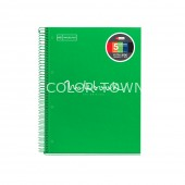 Caiet A4 patratele 120 file Emotions Green MR