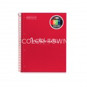 Caiet A4 patratele 120 file Emotions Red MR