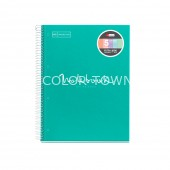 Caiet A4 linii 120 file Emotions Turquoise MR