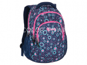Rucsac PULSE Teens Jeans flower