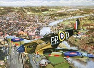 Puzzle Spitfire 140 piese